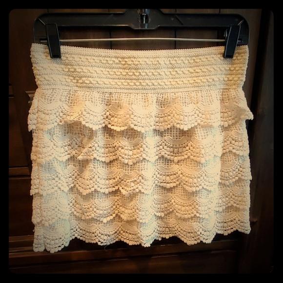 Jolt Dresses & Skirts - Crochet Mini Skirt